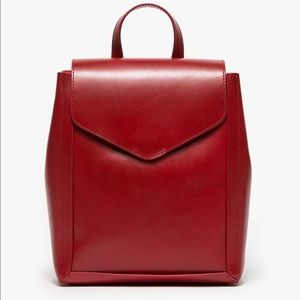 Loeffler Randall Red Backpack